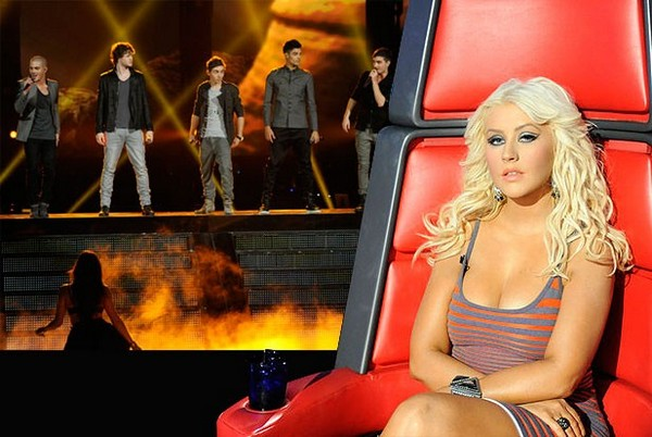 The-Wanted-Christina-Aguilera