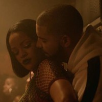 "Rihanna haciendo twerk en el doble vídeo de ""Work"" con Drake 