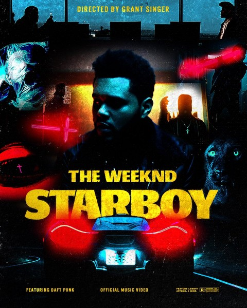 "Póster del cinematográfico ""Starboy"""