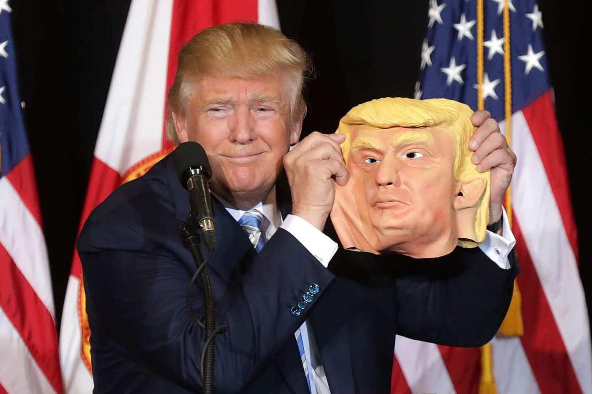 Los cinco momentos más grotescos de Donald Trump (que demuestra que no necesita un topo para ser boicoteado)